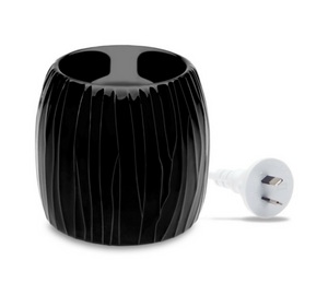 Electric Wax Melt Warmer - Black Pearl WMW