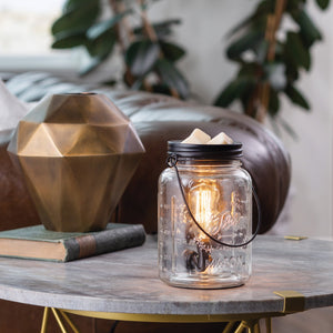 Mason Jar Edison Bulb Illumination Wax Melt Warmer
