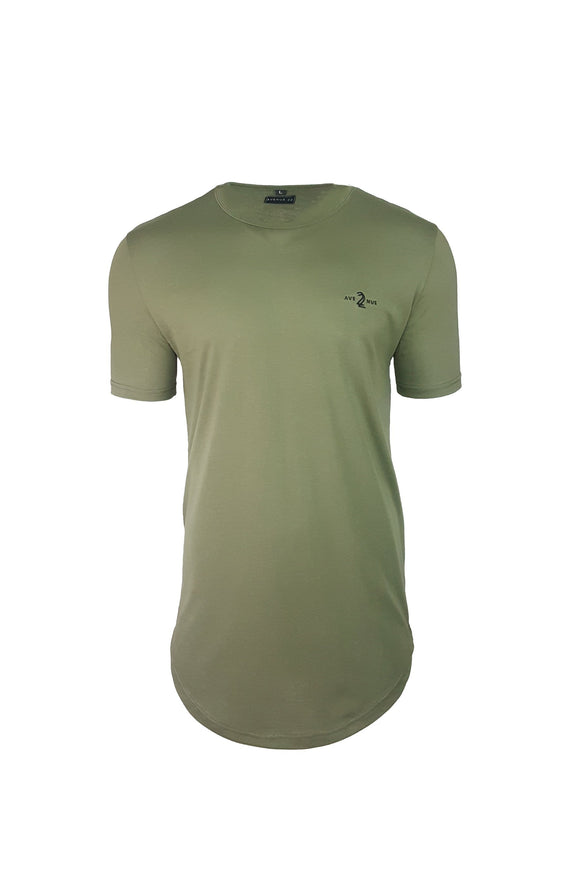 ORIGINAL SCOOP TEE - ARMY GREEN
