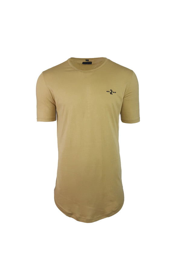 ORIGINAL SCOOP TEE - TAN