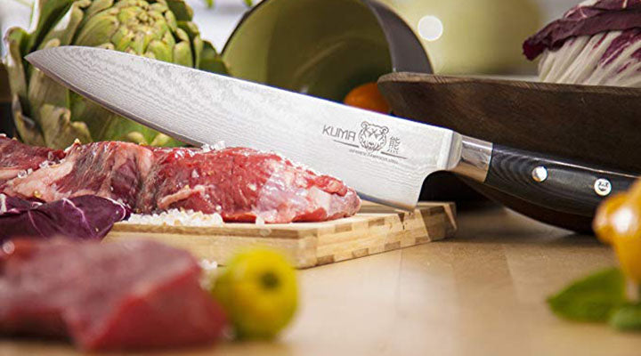 The Benefits of Choosing KUMA's Professional Damascus Steel Knife!