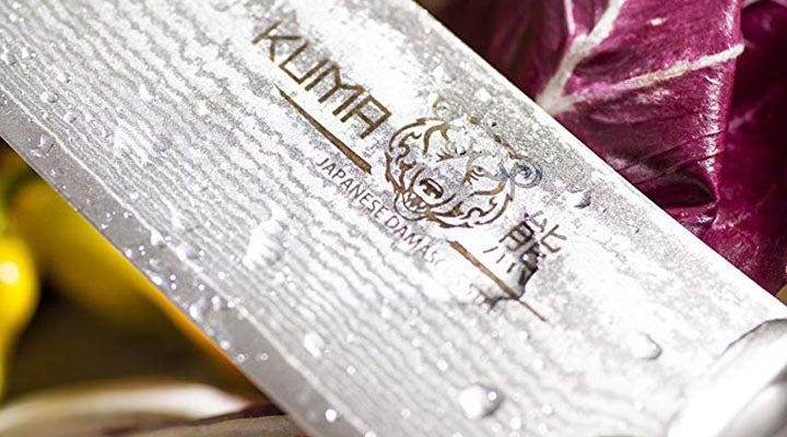 KUMA's Professional Damascus Steel Knife Makes Kitchen Tasks a Breeze