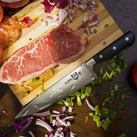 KUMA Multi Purpose Chef Knife - Razor Sharp Out Of The Box - 8 Inch Chef's Knife
