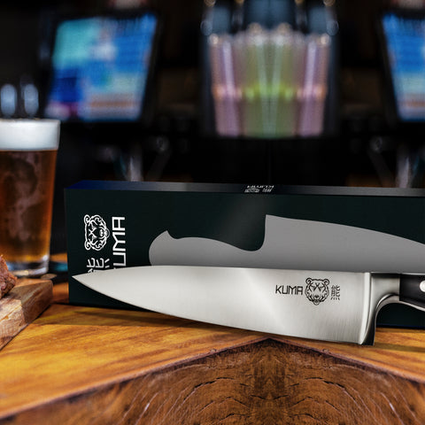3 Pack: KUMA Chef's Knife + KUMA Paring Knife + KUMA Honing Rod