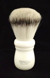 Zenith Ivory Handle XL Synthetic Shave Brush.  S1