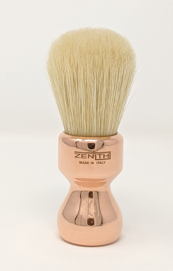 Zenith Copper Boar Brush. 27.5mm Made In Italy B33