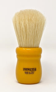 Butterscotch Chubby - Large Knot Handle Boar Brush by Zenith Made In Italy B34