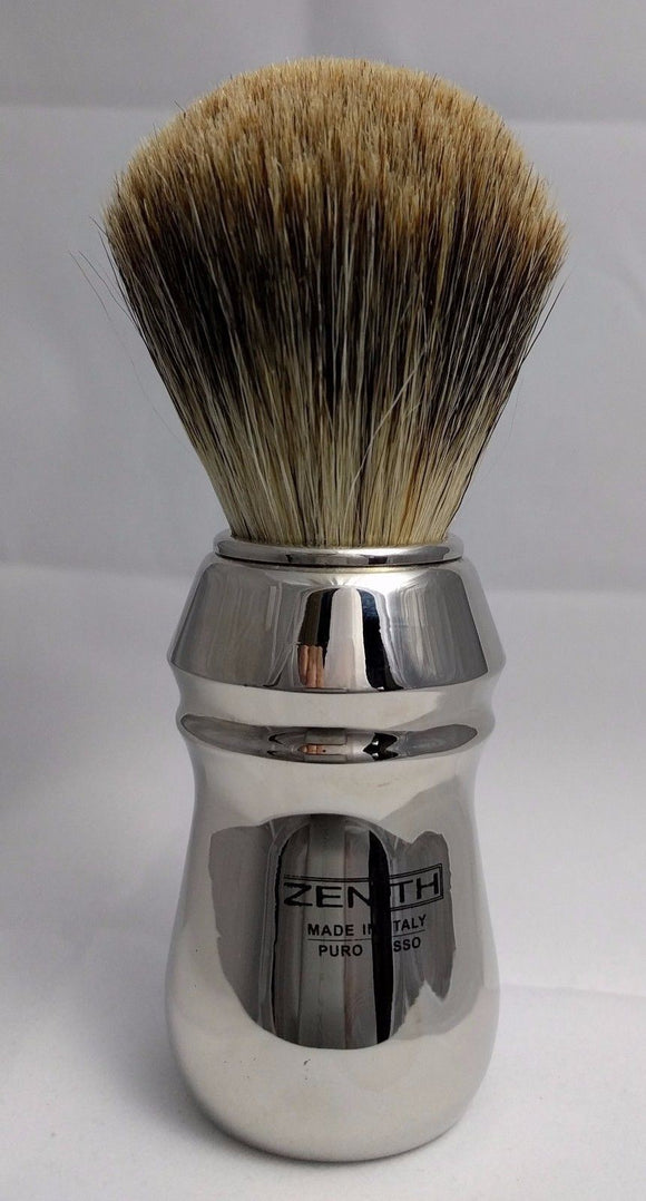 Zenith Best Badger. XL Copper Chrome handle. 26x51mm T7