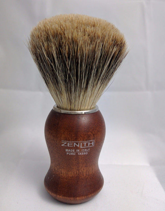 Zenith Kotibe Best Badger Shave Brush. 24.5 mm. Made in Palermo, Italy T4