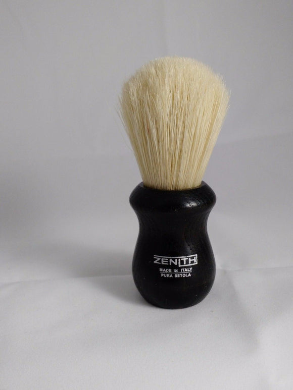 Short and Scrubby Boar Shave Brush by Zenith 24mm X 48mm. B17
