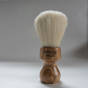 Olive Wood Handle Big Boar Brush by Zenith. B15