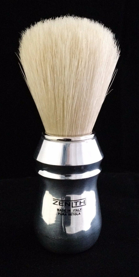 Zenith Pro Aluminum Handle Big Boar Shave Brush. 26x57mm knot.  B2