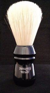 Zenith Pro Plastic XL Boar Shave Brush. 26x64mm. Four colors B3