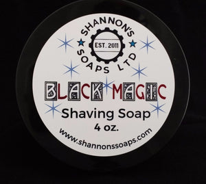 Black Magic by Shannon's Soap. Tallow/Lanolin/Essential Oil 4 ounce.