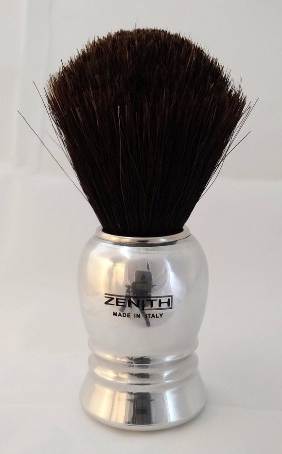 Zenith Horse Brush. Normal Size Aluminum Handle H2