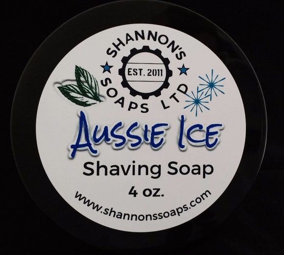 Aussie Ice By Shannon's Soap. Tallow/Lanolin/Essential Oil 4 ounce.