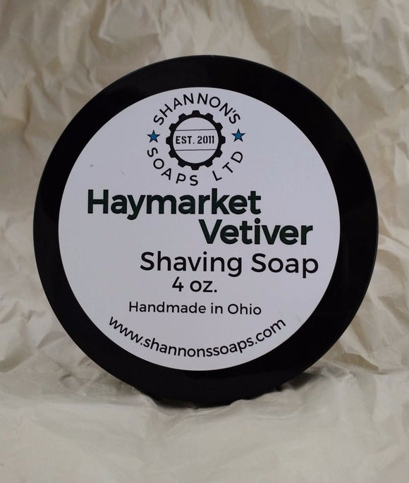 Haymarket Vetiver by Shannon's Soap. Tallow/Lanolin/Essential Oil 4oz
