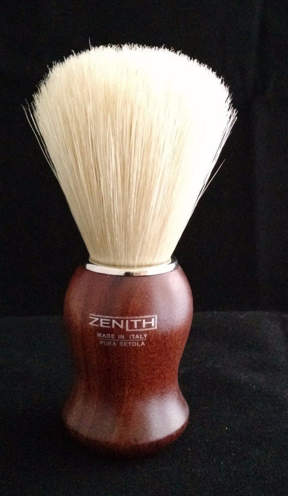 Kotibe Wood Handle Boar Shave Brush by Zenith 24.5 x 57mm Knot. B7