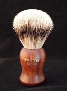 Zenith Kotibe Wood Premium Silvertip Shave Brush 24.5 mm P9