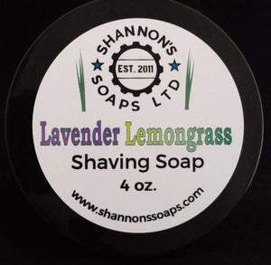 Lavender Lemongrass by Shannon's Soap Tallow/Lanolin/Essential Oil 4 ounce