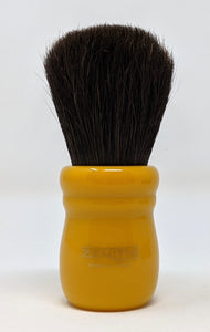 Extra Soft Horse Hair Brush w/Butterscotch Resin by Zenith 28mm x 52mm. E5
