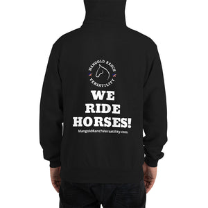 "Champion-""we Ride Horses!"" Hoodie"