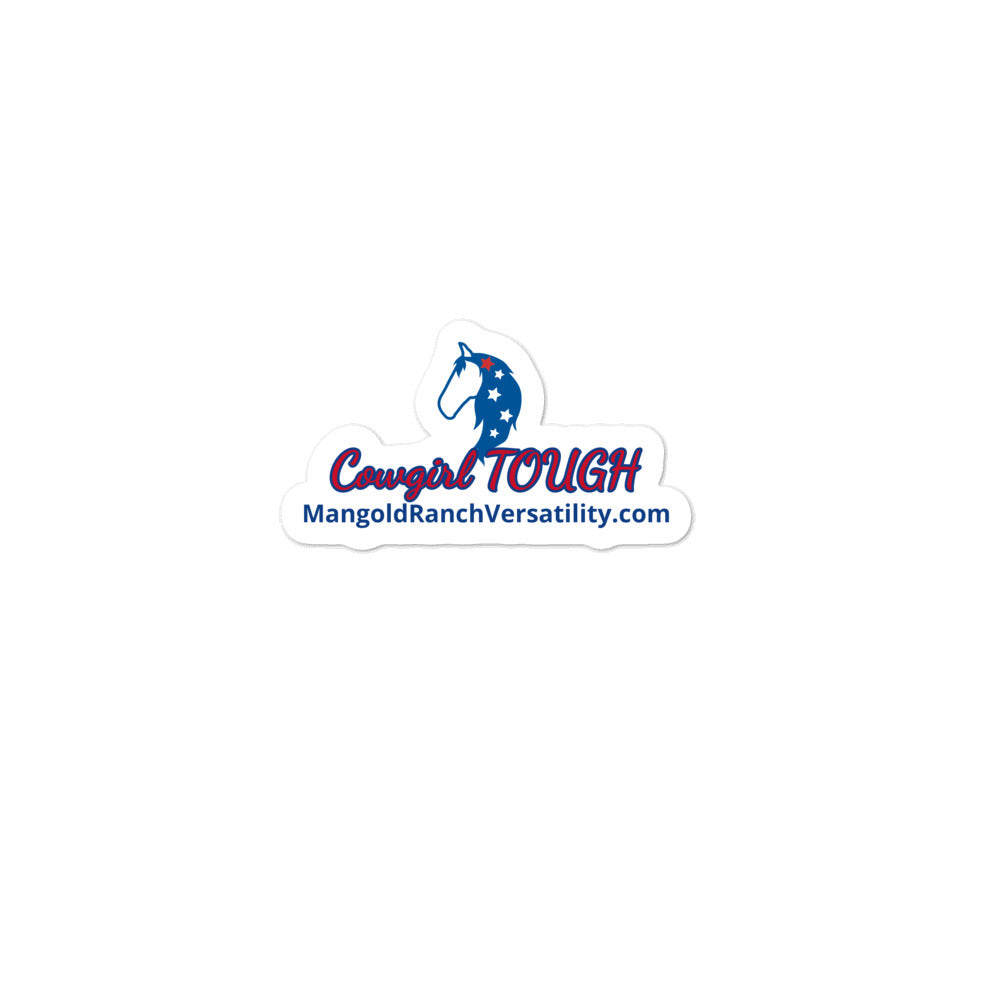Bubble-free stickers-Cowgirl Tough
