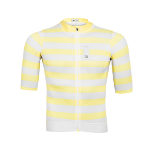 Masterpiece jersey  ~ Light Yellow Striped