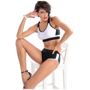 Low Waist Elastic Sports Suit