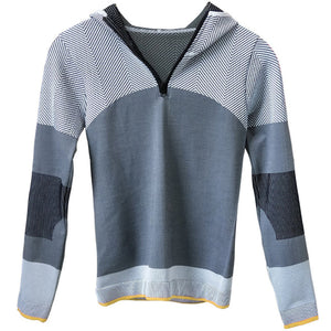Hooded running jacket Long Sleeve - FitnessAmazons.ca