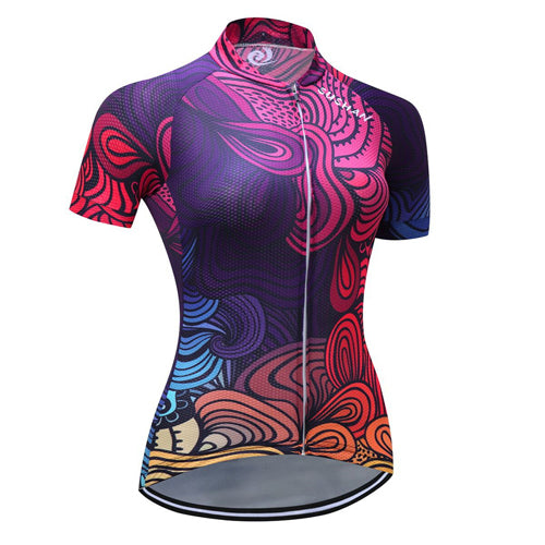 New Quick Dry Cycling Jersey - FitnessAmazons.ca