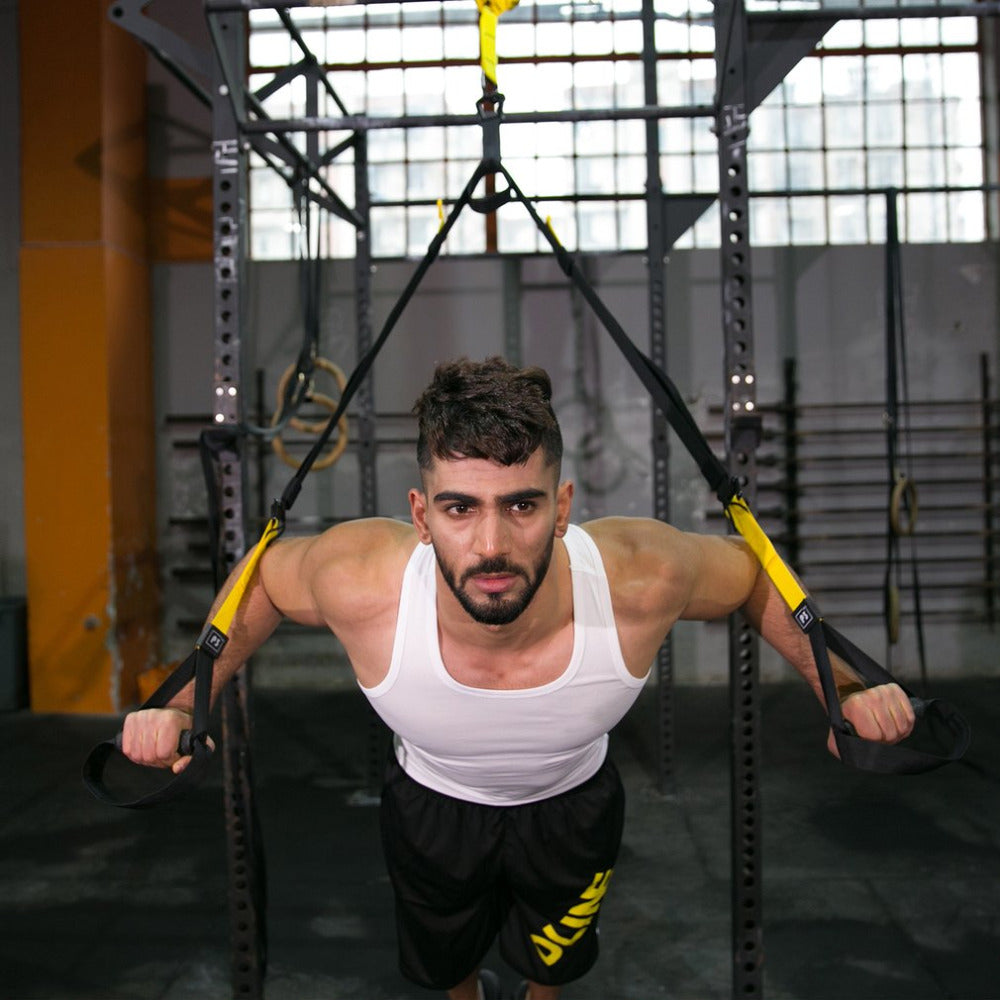 Strength Trainer Hanging Strap for crossfit and Qeenax exercises