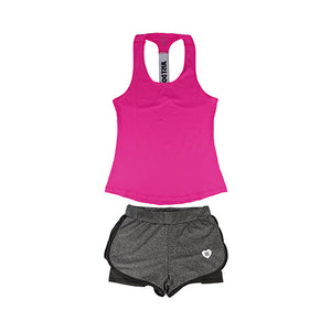 New Women Yoga Sport Suit 2 Piece