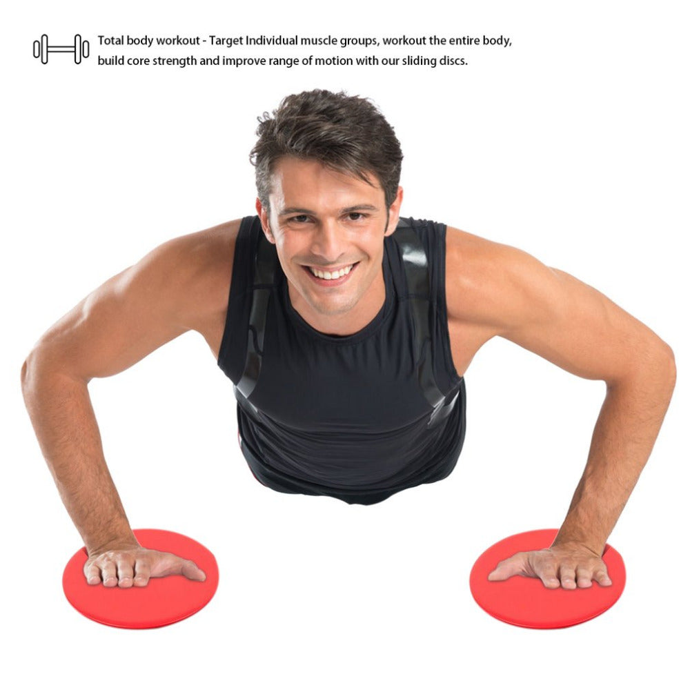 Gliding Discs Use On Carpet Or Hardwood Floors For Core Training Home