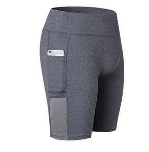 Compression Short Tights with side pocket - FitnessAmazons.ca