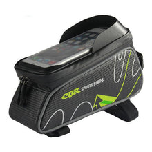 Waterproof Bicycle Front Tube Bags 6 Inch Phone Touch Screen - FitnessAmazons.ca