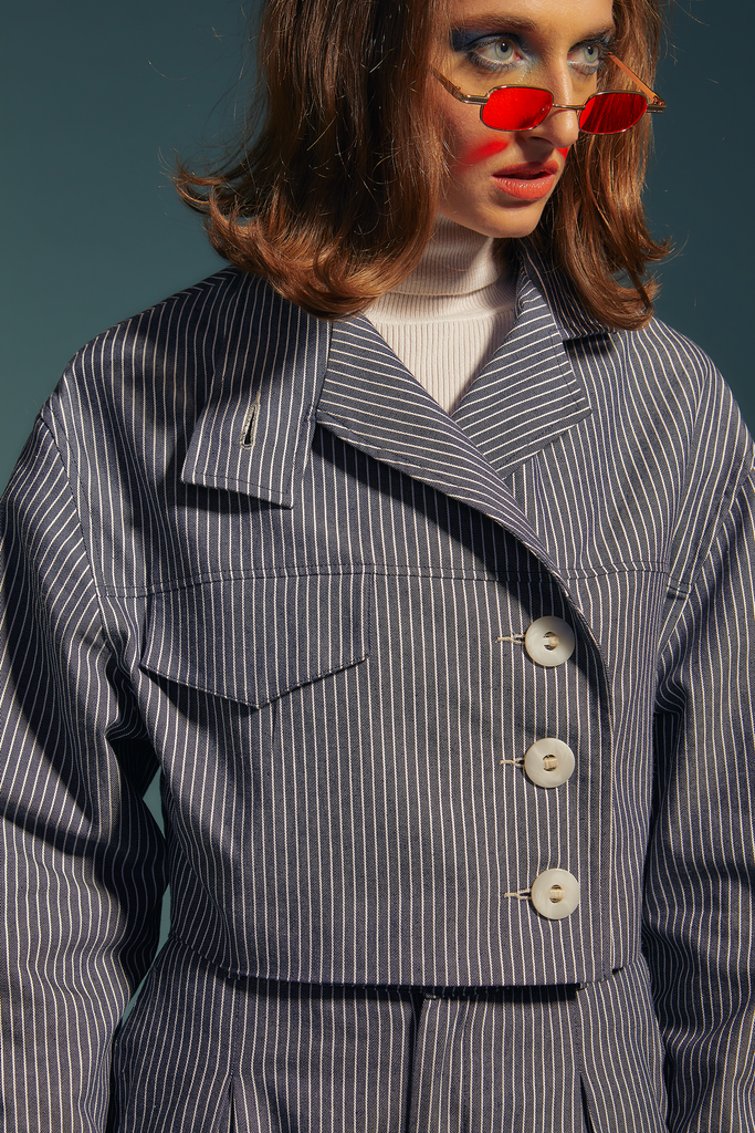 veste striped jean - the sherlock uniform