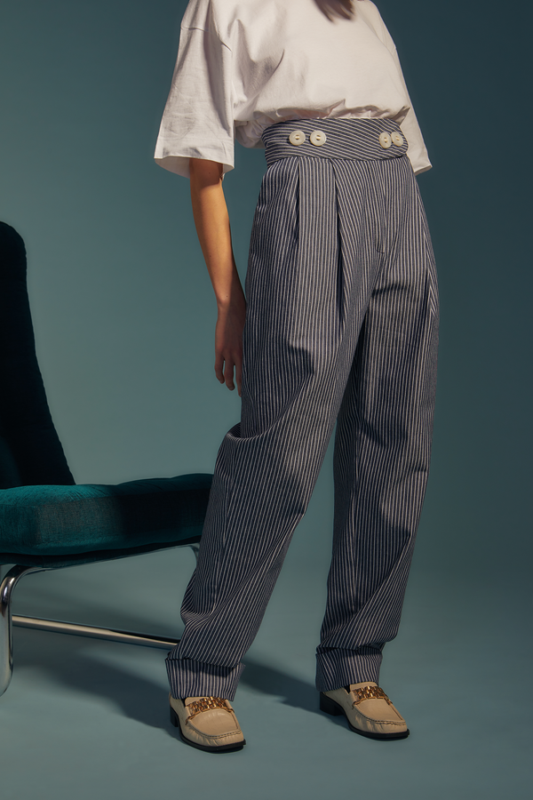 pantalon striped jean - the gangster uniform