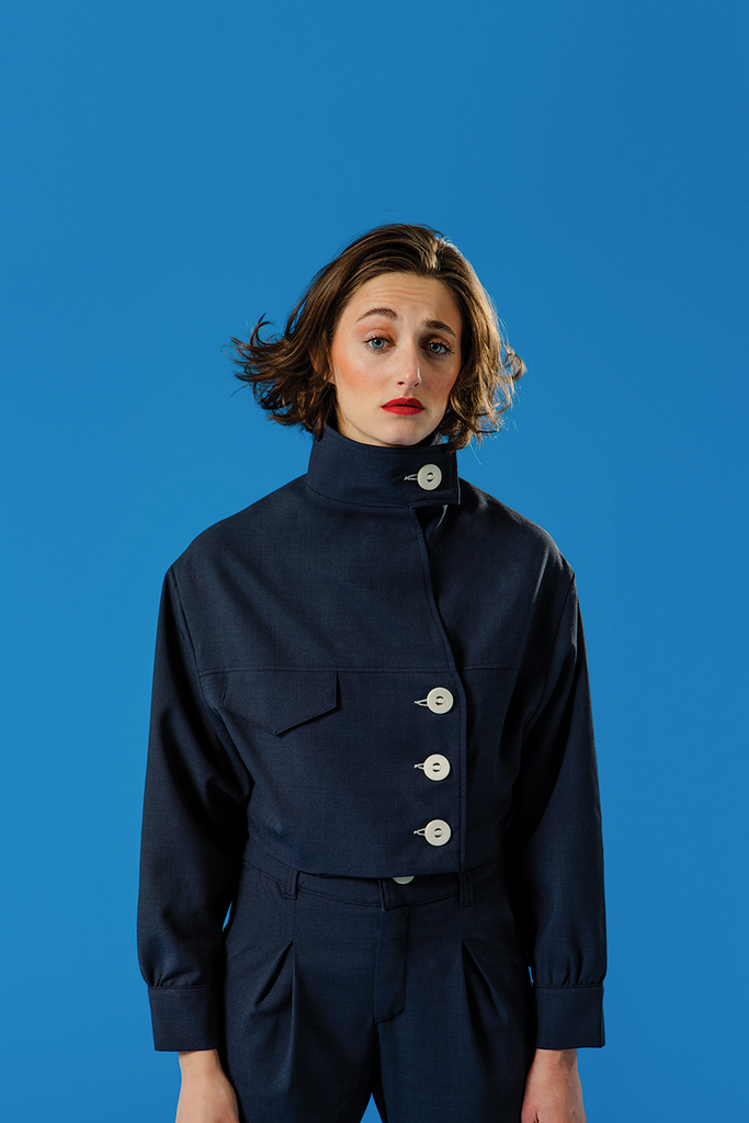 veste bleu nuit - the sherlock uniform
