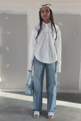 chemise blanche en coton - the gardener uniform