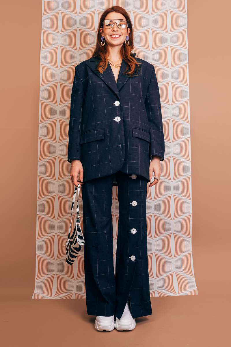 veste midnight blue - the boss uniform