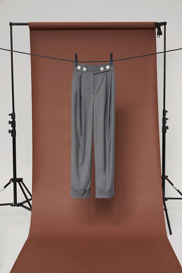 pantalon ice grey - the gangster uniform