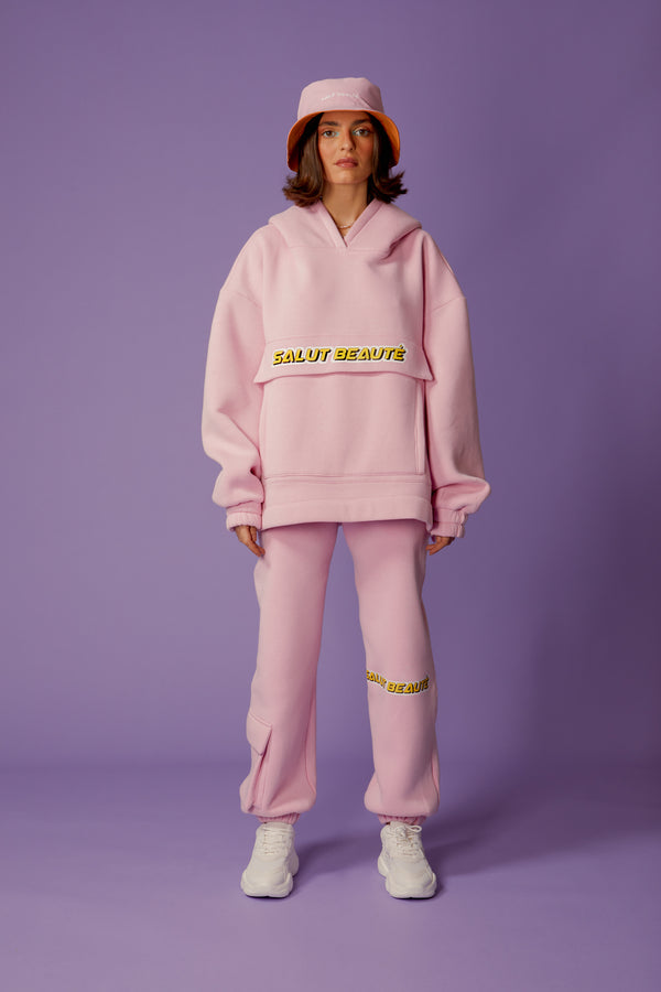 hoodie candy pink - the coach uniform
