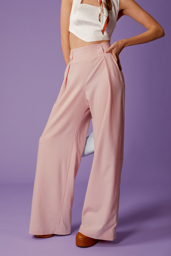 pantalon baby pink - the boss uniform