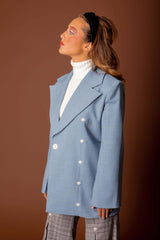 veste baby blue - the school uniform