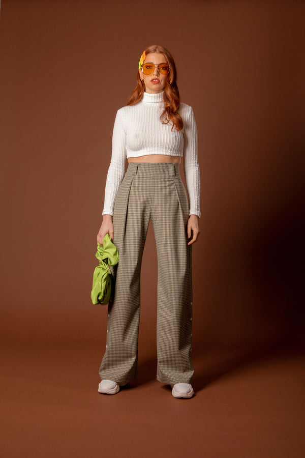 pantalon vintage green - the boss uniform