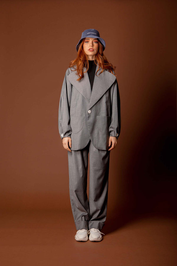 veste ice grey - the gangster uniform