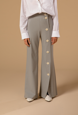 pantalon gris perle - the air uniform