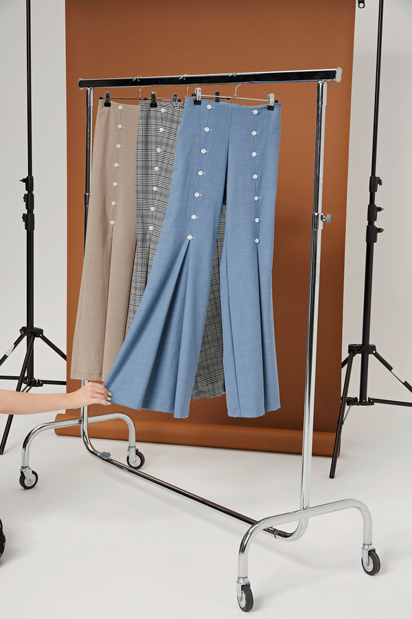 pantalon baby blue - the school uniform