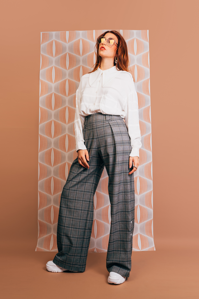 pantalon vintage grey - the boss uniform